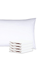 NTBAY 100% Brushed Microfiber Pillowcases