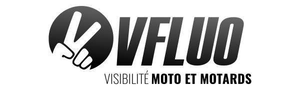 vfluo, visibilité, moto, motard, logo