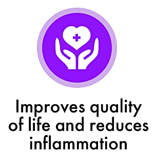 Improves quality of life and reduces inflammation