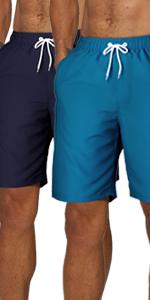 Men's 2 Pack Swim Trunks