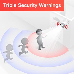 Triple security warnings