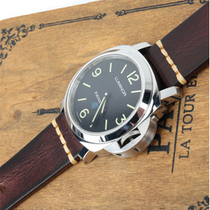 18mm leather watch band