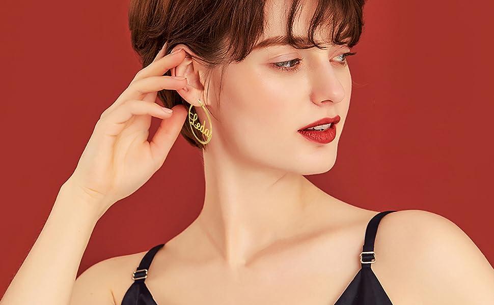 manzhen hoop earring