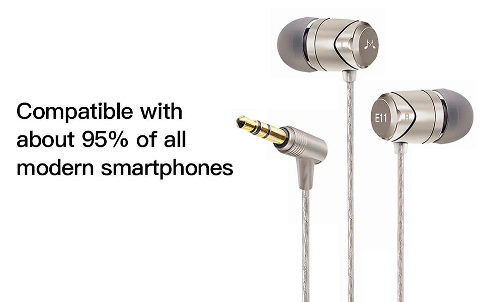 E11 earphones earbuds headphones headset