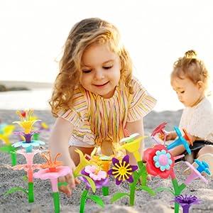 flower toys for girls