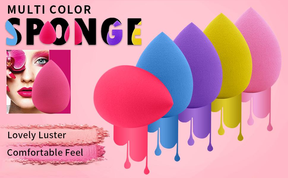 Advantage: Latex-free Dry & Wet Dual-Use Super Soft & Bouncy Vegan & Cruelty-free