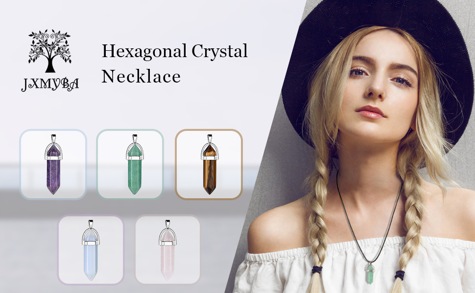 Recharge Crystal Necklace To Promote Good Heath