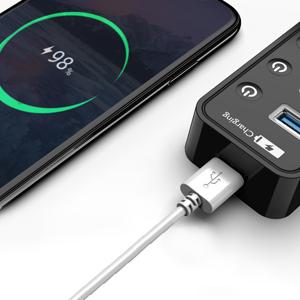 Hub USB 3.0, doppiatore usb