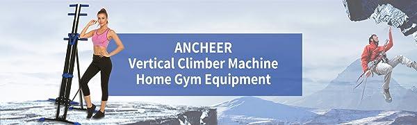 Vertical climber machine