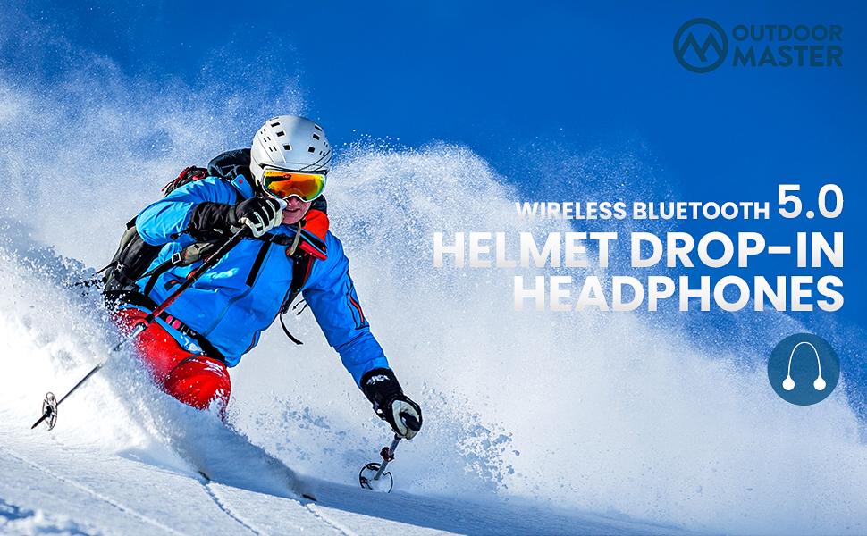 bluetooth ski helmet headphones