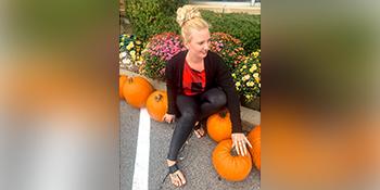 Halloween shirts Pumpkin funny shirt plaid shirt womens off shoulder top