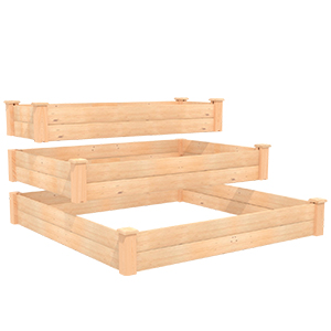 Raised Bed, Tiered Planter, Elevated Raised Bed, Outdoor Planter, Tiered Raised Bed, Garden Bed