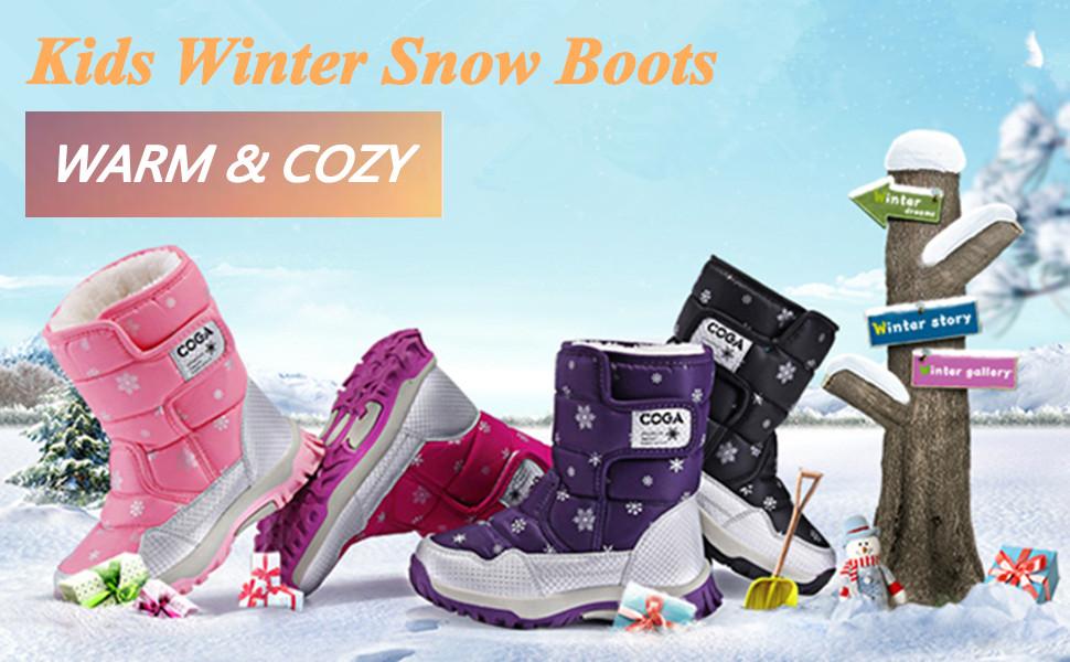 Kids warm boots
