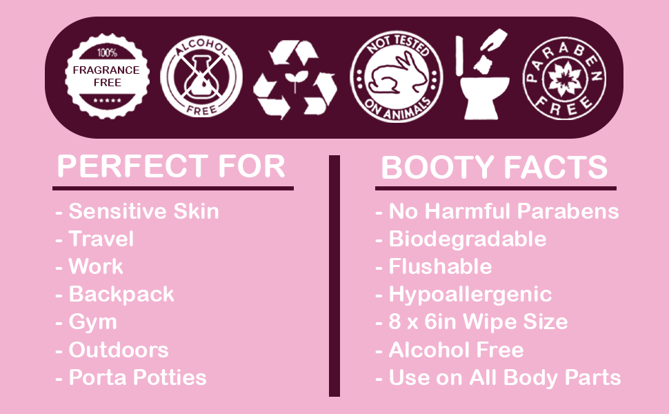 Flushable wipes for adults booty wipes feminine wipes vaginal wipes travel wipes womens wipes
