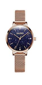 Women Mesh Bracelet Watch
