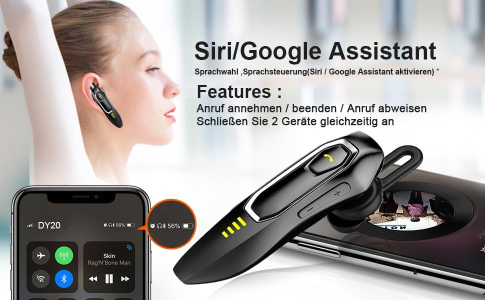 Oreillette Bluetooth sans fil