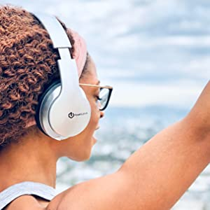 bluetooth headphones over ear hd stereo bass powerful sound hi fi stereo top wireless headphones tv