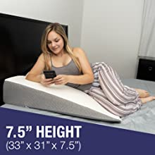 extra wide bed wedge