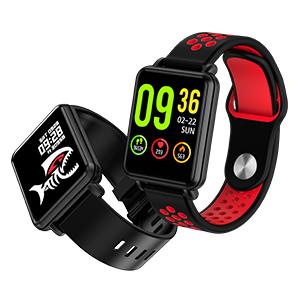 two watch band smart watch
