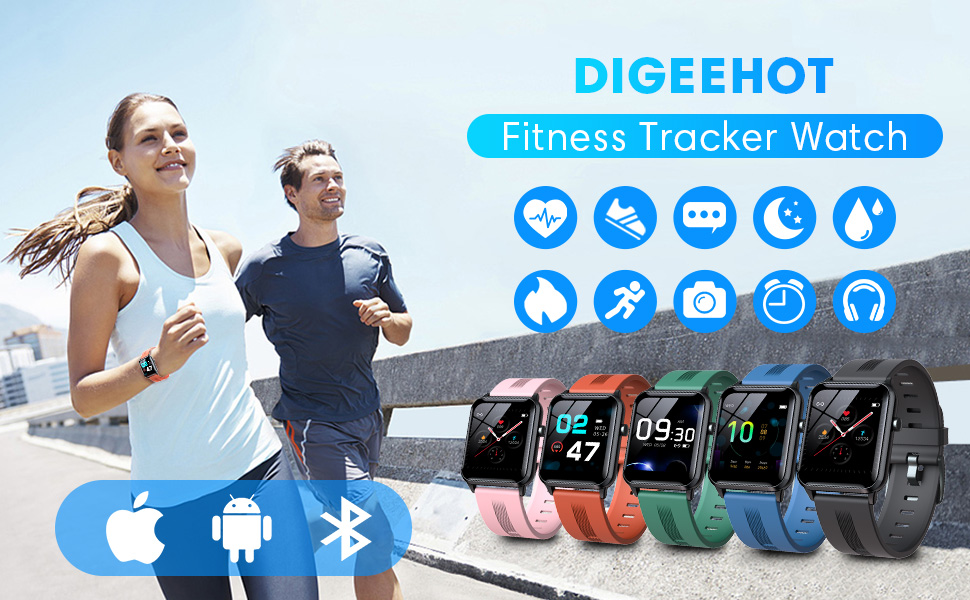 DIGEEHOT Fitness Tracker Watch
