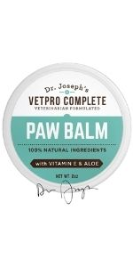 Paw Balm for Dogs - nose and paws relief moisturizer