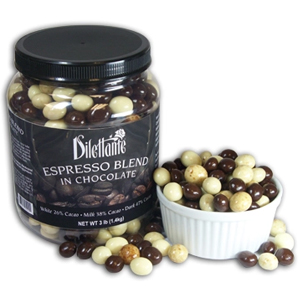 3lb bulk Jar of Dilettante Espresso Bean Blend