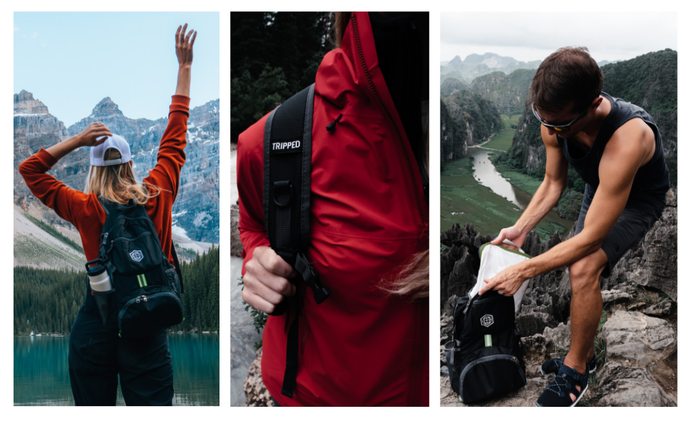 about tripped travel gear