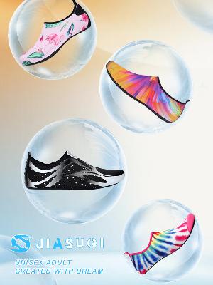 JIASUQI Mens Athletic Beach Walking Sandals Water Skin Shoes