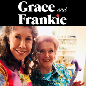 """Lavender Ice cane """"Grace and Frankie"""""""