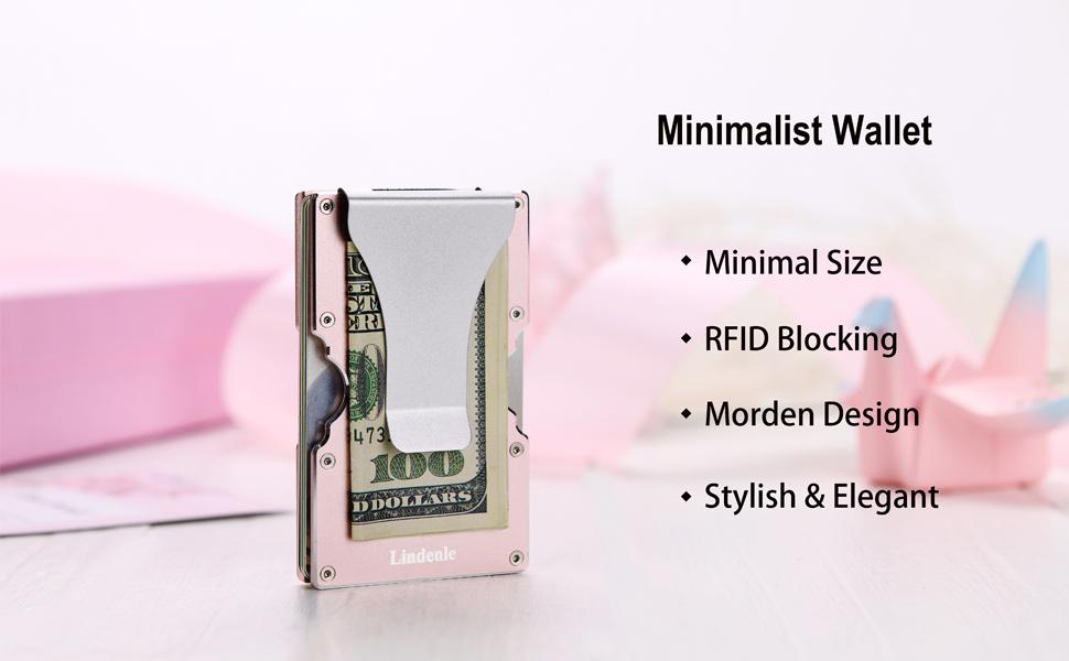 minimalist wallet front face