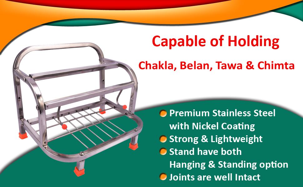 Chakla belan stand