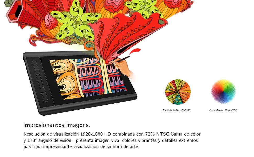 Artist 12 tableta grafica con patalla