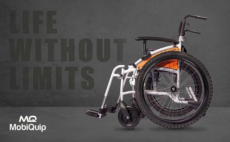 mobiquip g explorer wheelchair. Live without limits