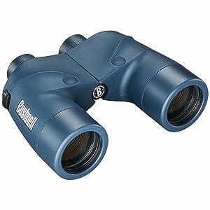 Three quarter view of Bushnell Marine Waterproof Binoculars