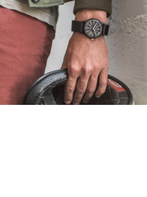 Reloj de Hombre Correa de Nylon Reloj Militar Deportivo, Verde ...