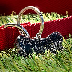 Orgonite Dog EMF Shield Protection Pet Collar Charm Healing Crystal Black Tourmaline Ayana Wellness