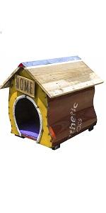 upcycled emporium think outside barnyard dagwood dog dog sculpture sitting dog newspring indoor out