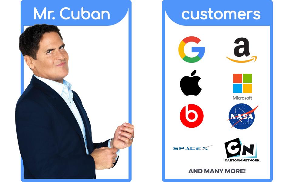 mark cuban company shark tank products