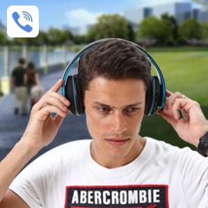 WXY Over Ear Bluetooth Headphones-EBC-9
