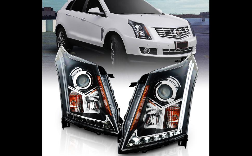 SRX Caddy Black Lamp