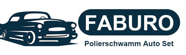 Faburo 31 Stück Polierschwamm Auto Set Für Polieraufsatz Akkuschrauber Poliermaschine M10 Bohrer Adapter Auto