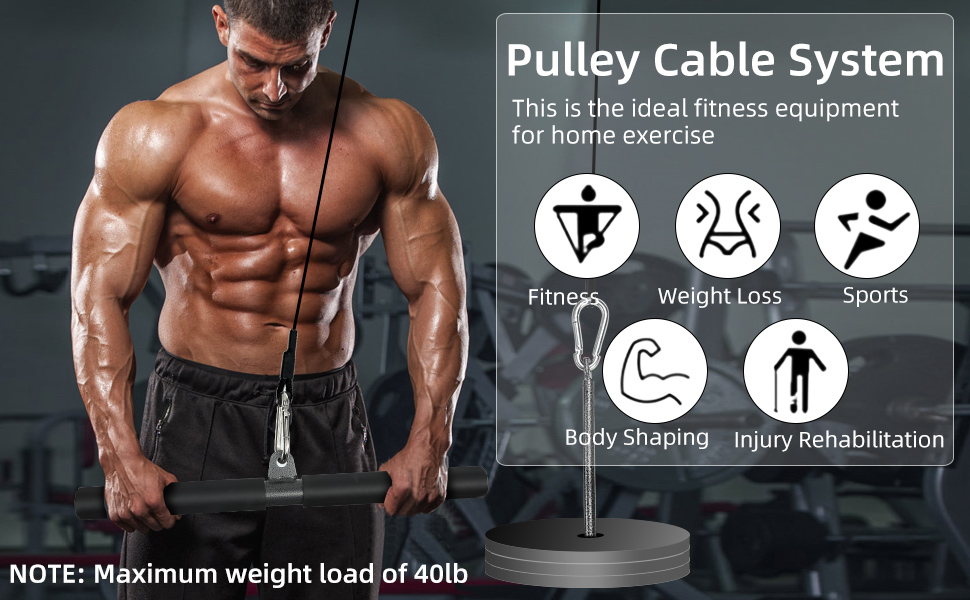 pulley cable system