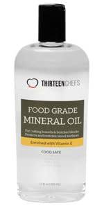 Food Grade Mineral Oil for Cutting Boards, Countertops and Butcher Blocks - Food Safe Made in USA