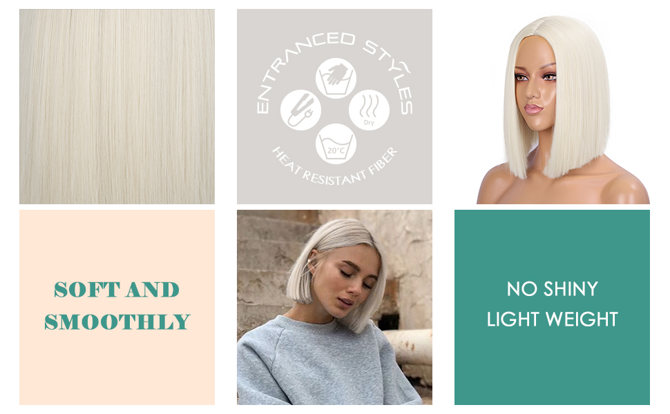 heat resistant Fiber Synthetic wigs