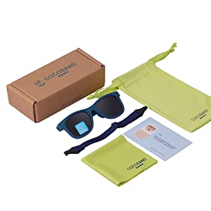 blue baby sunglasses gift package infant shade 0 6 12 24months