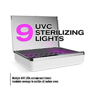300 wh 9 uvc lights