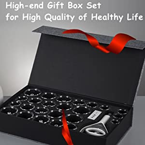 High-end Gift Box Set for High Quality of Healthy Life.