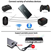 Wireless devices and Power bank