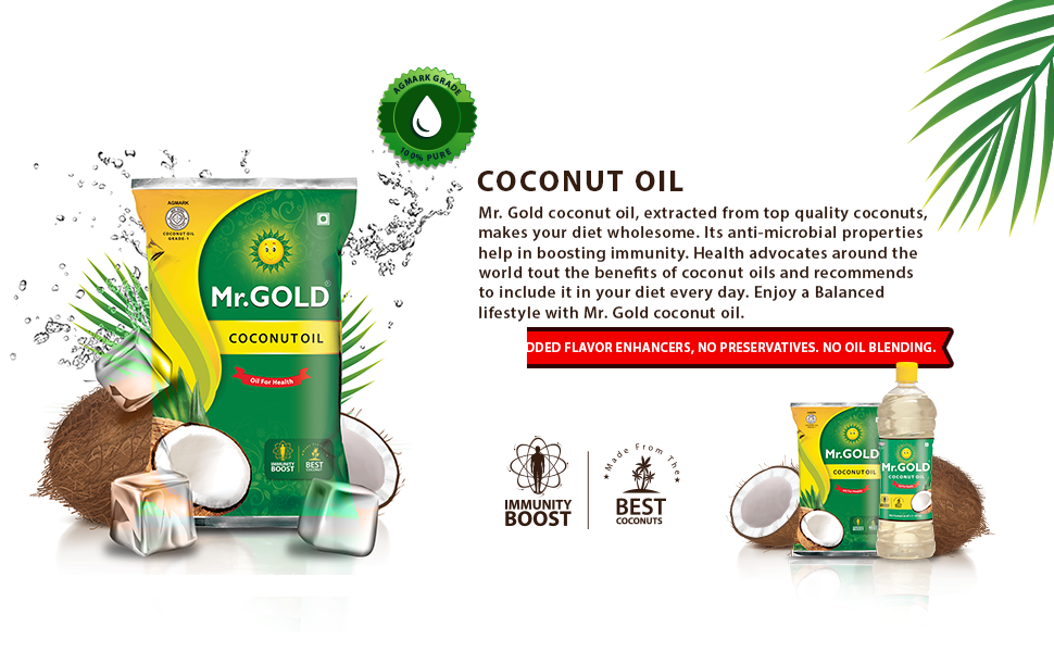 Coconut Oil Content