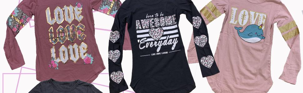love awesome uniwhale long sleeve shirts